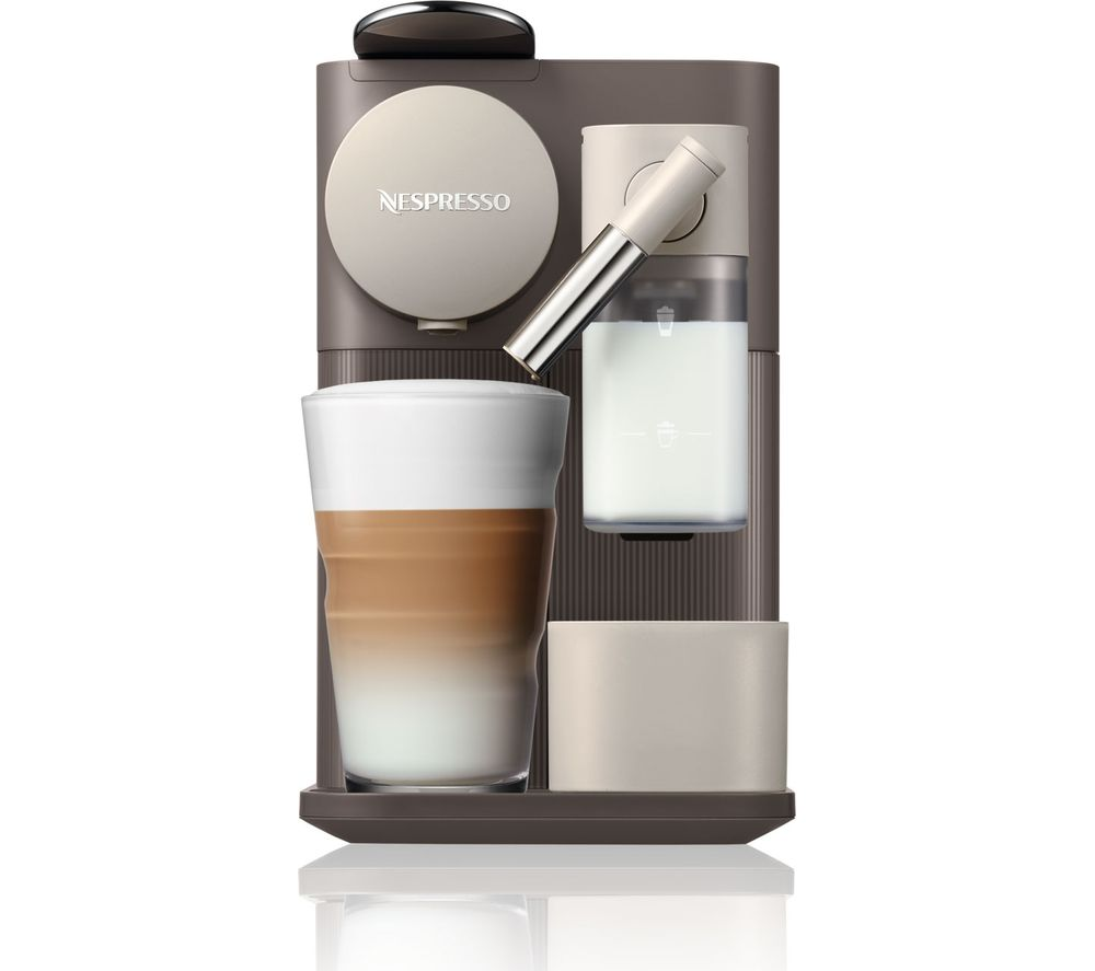 NESPRESSO by De'Longhi Lattissima One EN500BW Coffee Machine - Brown