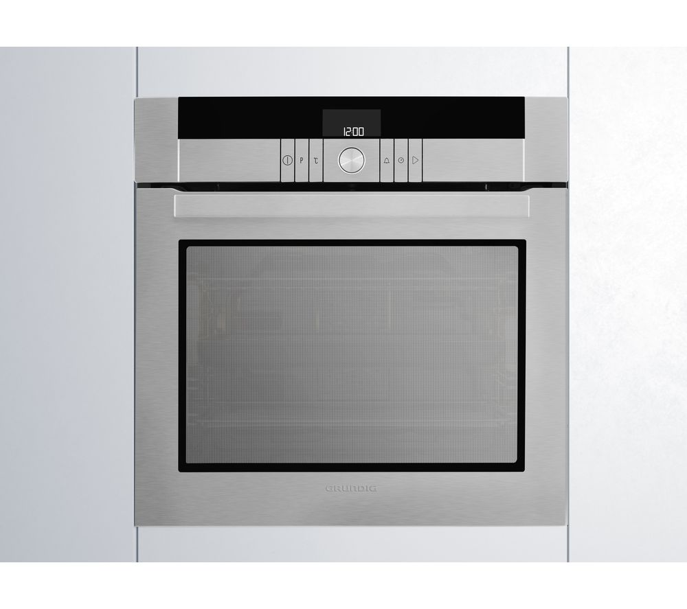 GRUNDIG GEBM34000XP Electric Oven - Stainless Steel, Stainless Steel