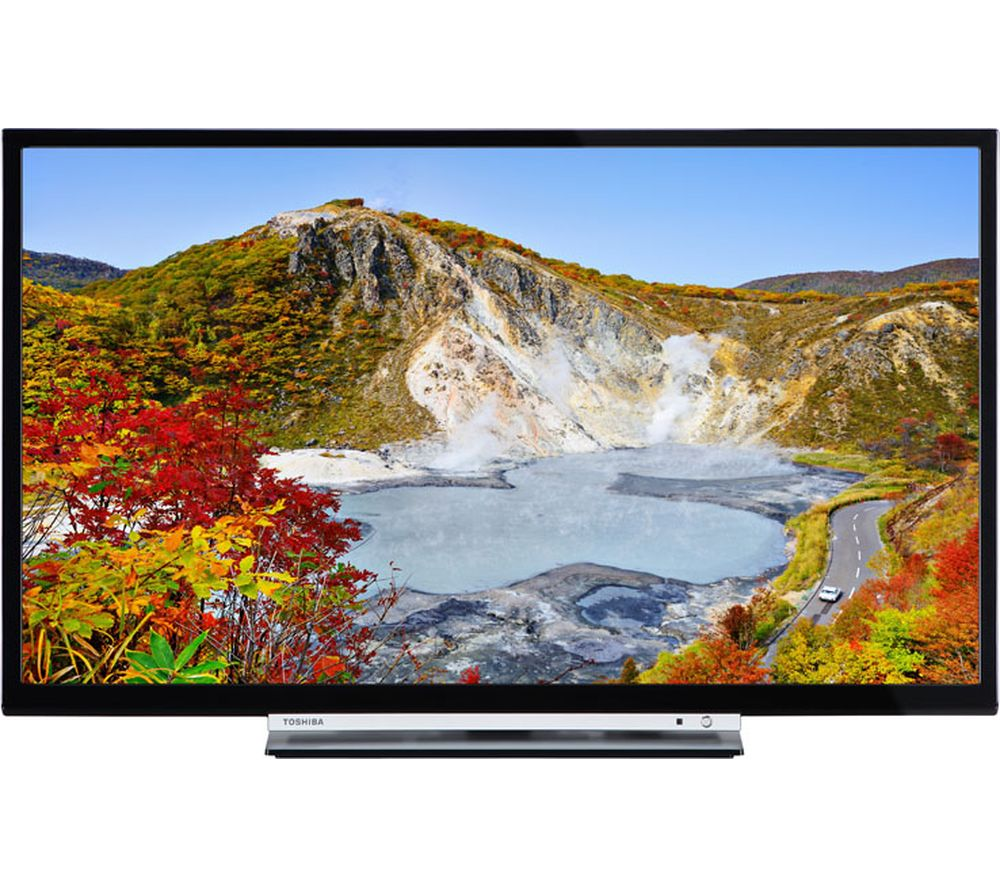 "24"" TOSHIBA 24W3753DB Smart LED TV, Gold Review thumbnail"