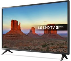 "LG 49UK6300PLB 49"" Smart 4K Ultra HD HDR LED TV"