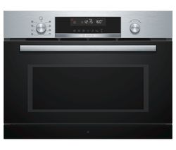 BOSCH Serie 6 CPA565GS0B Built-in Combination Microwave - Stainless Steel