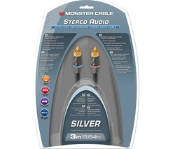 MONSTER Silver Ultra High Performance MC 400I2-3M WW AV Cable - 3 m