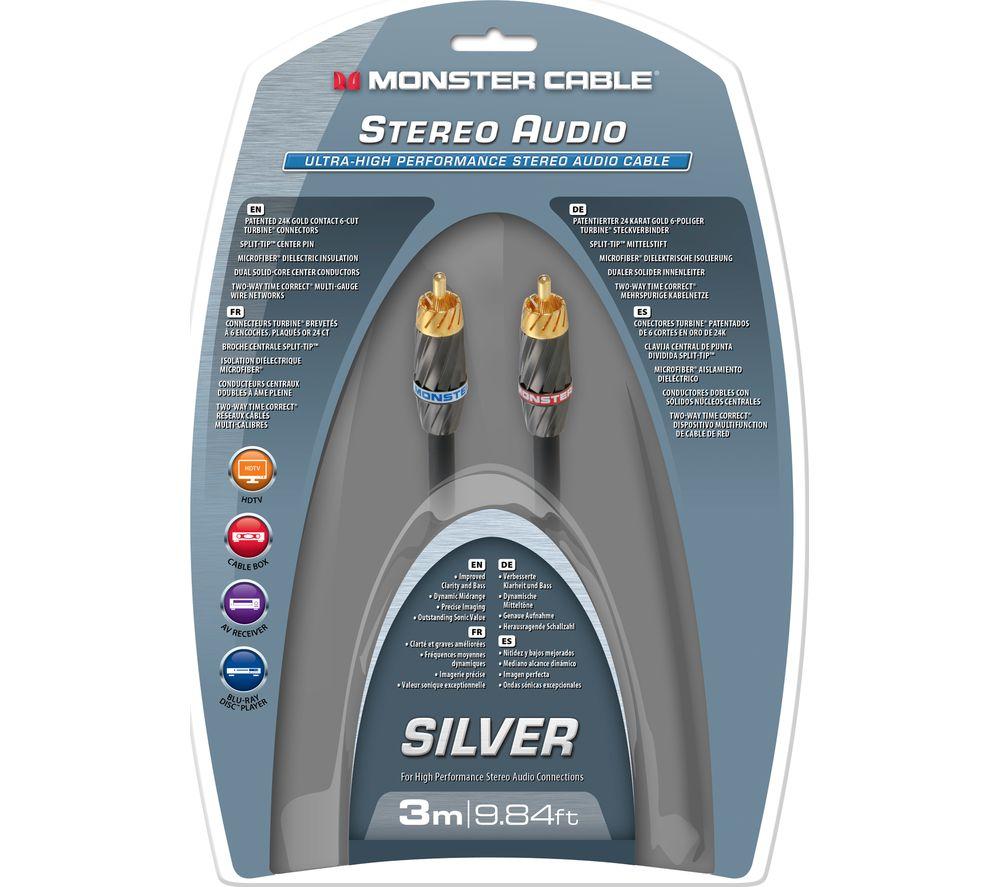 MONSTER Silver Ultra High Performance MC 400I2-3M WW AV Cable - 3 m