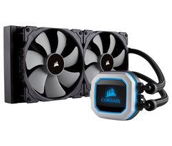 CORSAIR Hydro Series H115i Pro 140 mm CPU Cooler - RGB LED