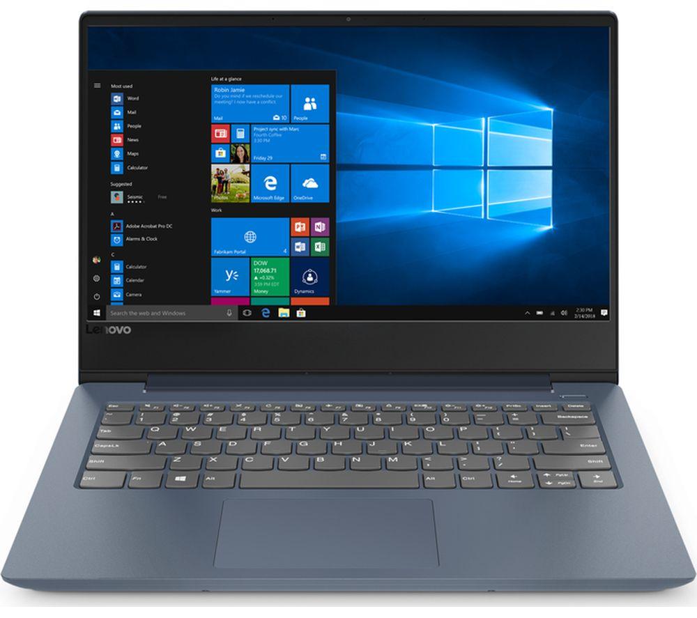 LENOVO IdeaPad 81F400L7UK 14 inch Intel® Pentium Gold Laptop - 128 GB SSD, Blue