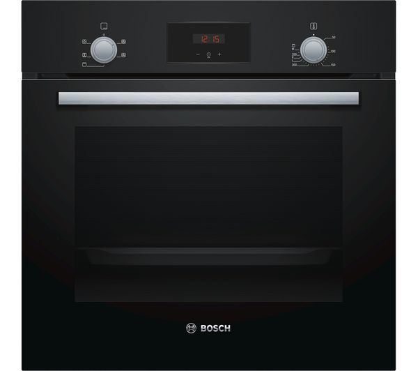 Image of BOSCH Serie 2 HHF113BA0B Electric Oven - Black