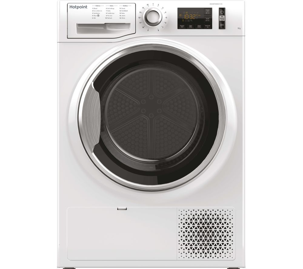 HOTPOINT Active Care NT M11 92XB UK 9 kg Heat Pump Tumble Dryer - White, White
