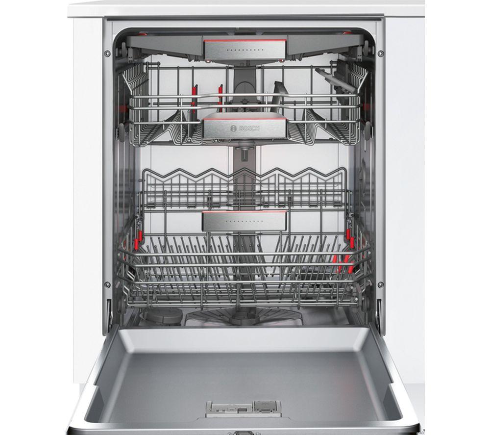 BOSCH Serie 6 SMI68TS06E Full-size Semi-Integrated Smart Dishwasher