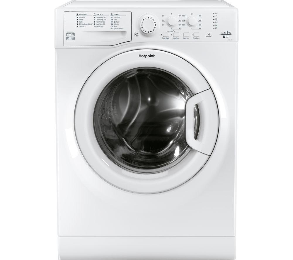 HOTPOINT FML 842 P UK 8 kg 1400 Spin Washing Machine - White