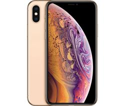 APPLE iPhone Xs - 64 GB, Gold
