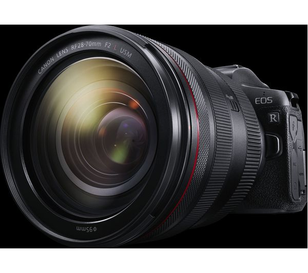 Buy Canon Eos R Mirrorless Camera With Rf 24 105 Mm F 4l