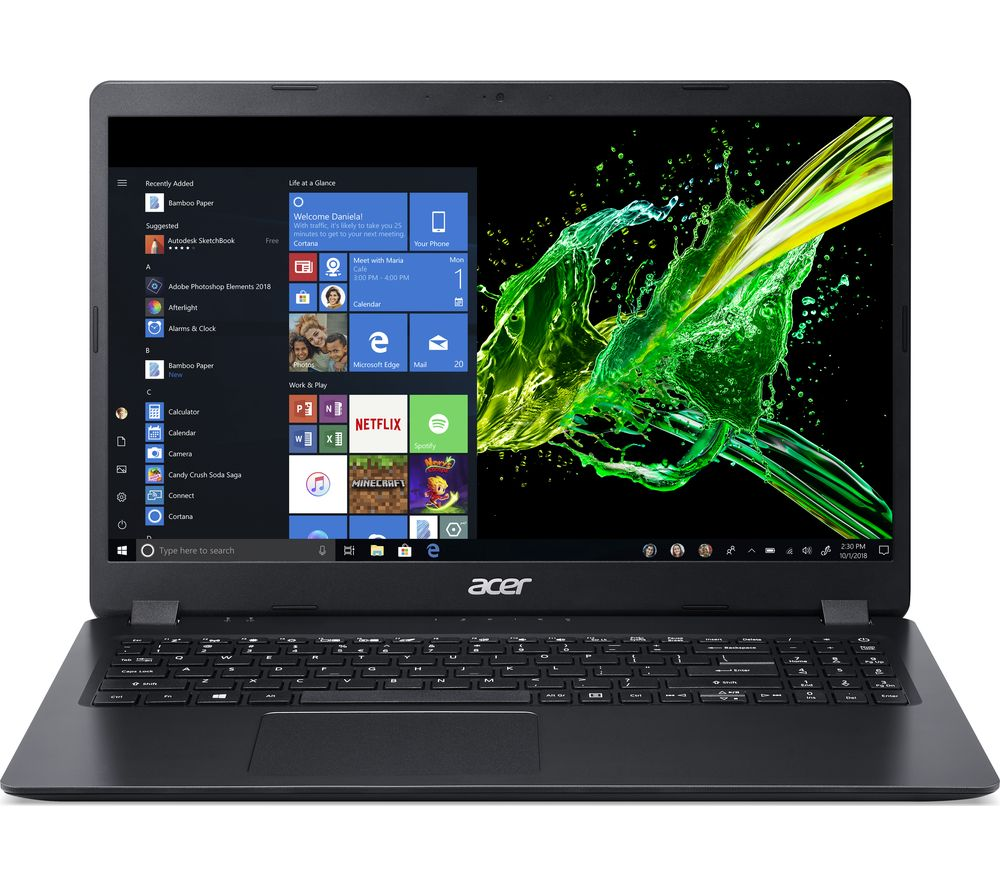 "ACER Aspire 3 A315-42 15.6"" Laptop - AMD Ryzen 3, 256 GB SSD, Black"