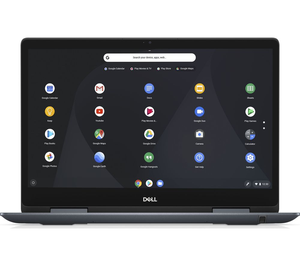 "DELL Inspiron 14 7000 14"" Intel® Core™ i3 2 in 1 Chromebook - 128 GB eMMC, Grey"