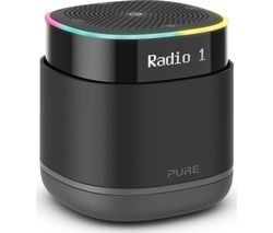 Image of PURE StreamR Portable DAB+/FM Bluetooth Radio - Charcoal