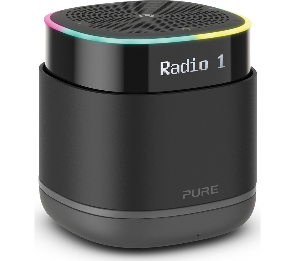 Image of StreamR Portable DAB+/FM Bluetooth Radio - Charcoal, Charcoal