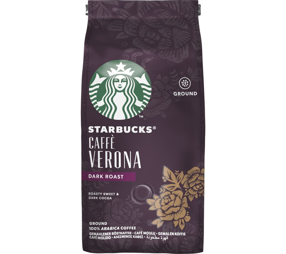 STARBUCKS Caffè Verona Ground Coffee - 200 g