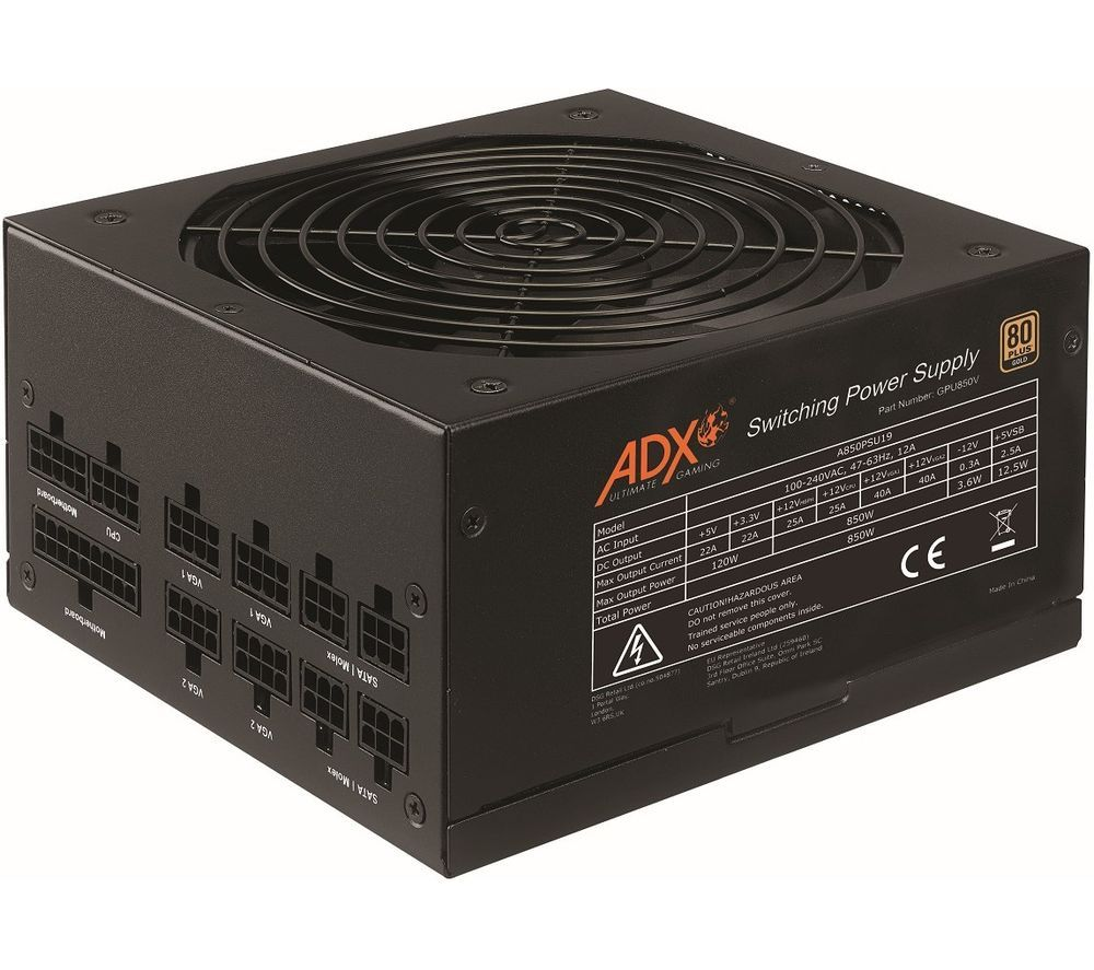 ADX Power W850 Modular ATX PSU - 850 W