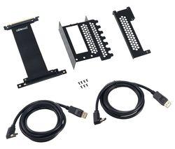 Vertical PCIe Bracket - Black