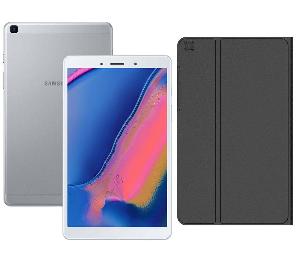 """Image of SAMSUNG Galaxy Tab A 8"""" Tablet (2019) & 8"""" Galaxy Tab A Folio Bundle"""