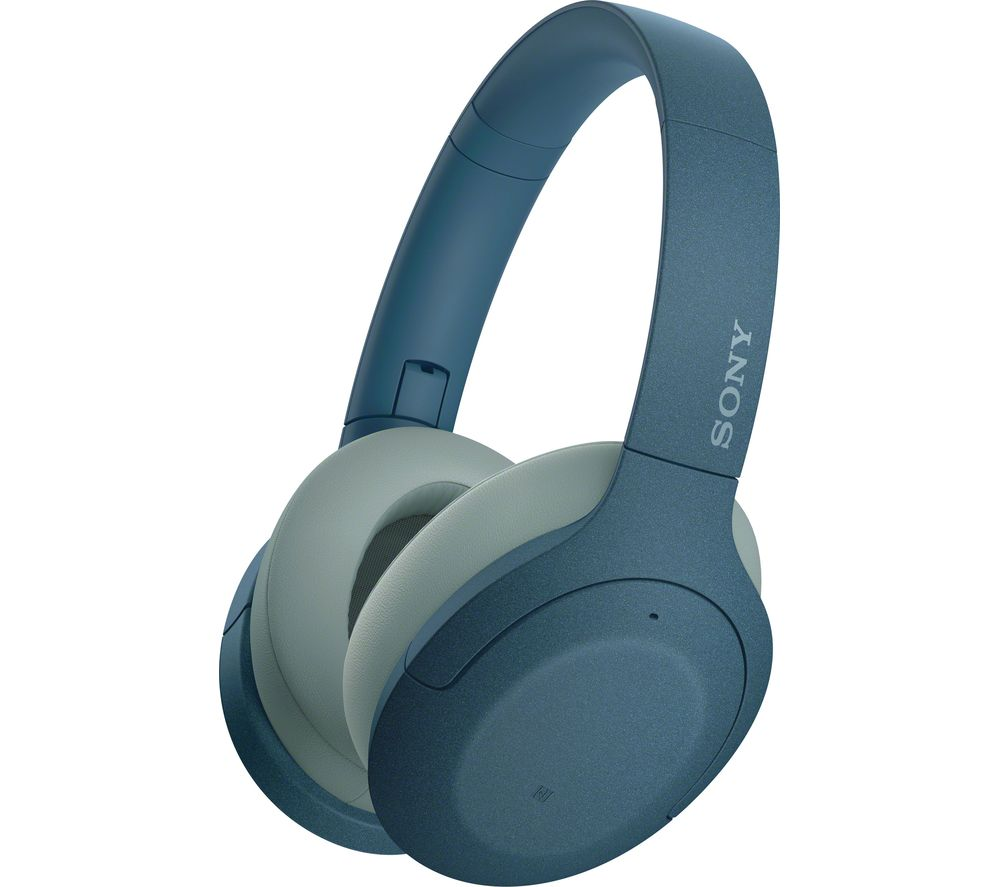 Image of SONY WH-H910 Wireless Bluetooth Noise-Cancelling Headphones - Blue, Blue