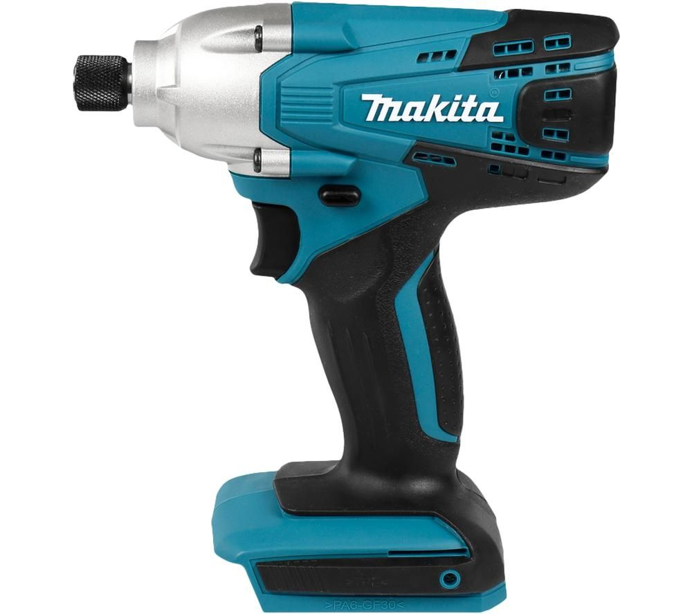 Image of MAKITA G-Series TD127DZ 18V Impact Driver - Body Only, Blue, Blue