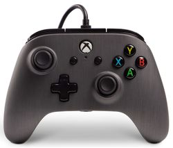 Xbox One Enhanced Wired Controller - Brushed Gunmetal
