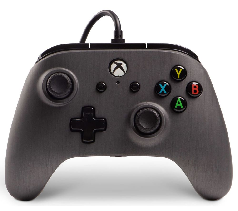 POWERA Xbox One Enhanced Wired Controller - Brushed Gunmetal