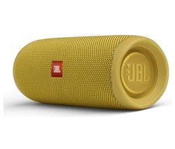 Flip 5 Portable Bluetooth Speaker - Yellow