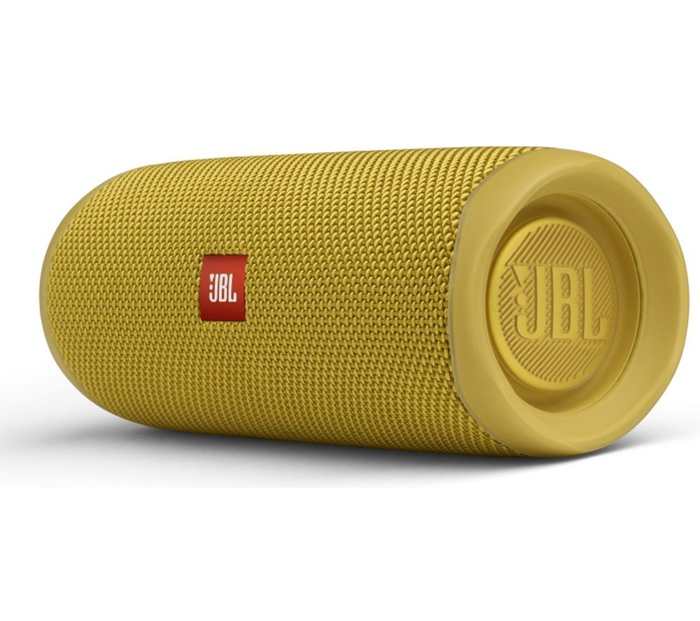 JBL Flip 5 Portable Bluetooth Speaker - Yellow, Yellow