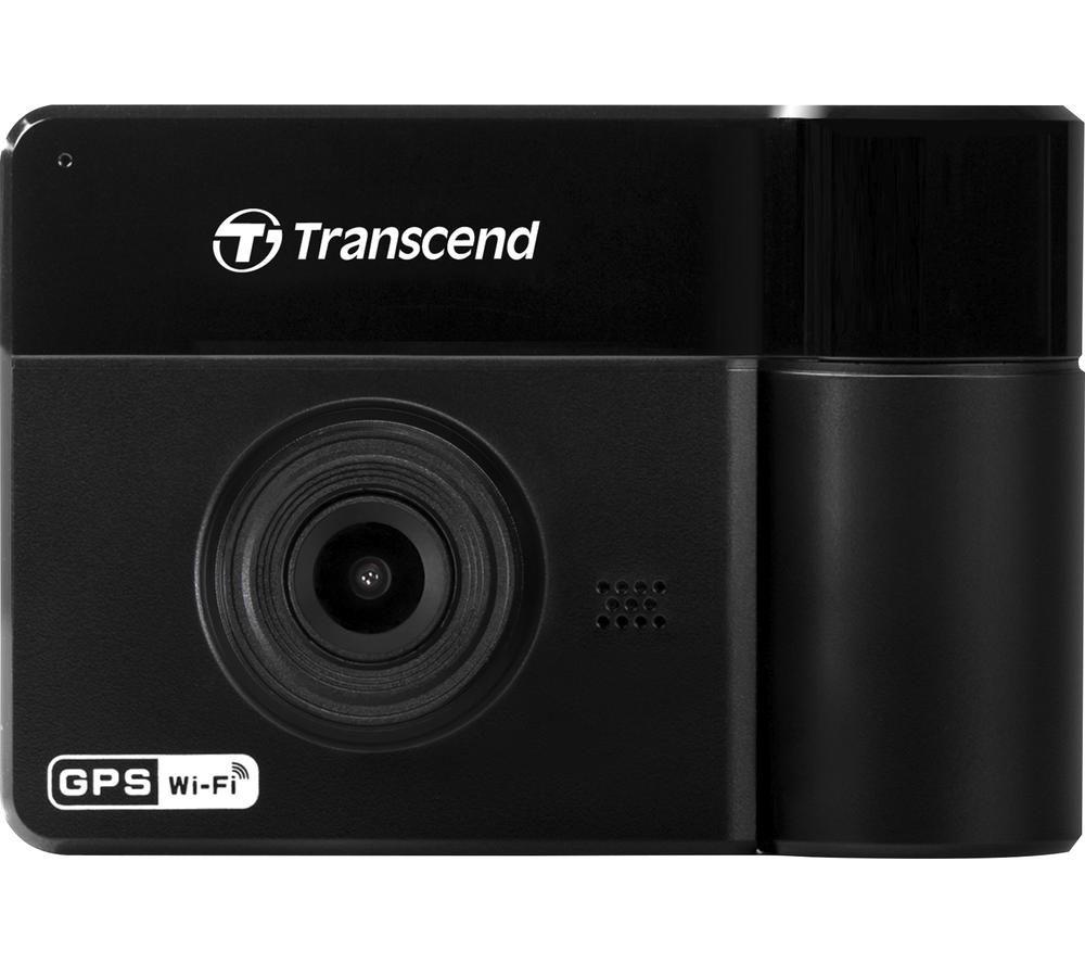 Image of TRANSCEND DrivePro 550 Full HD Dash Cam - Black, Black