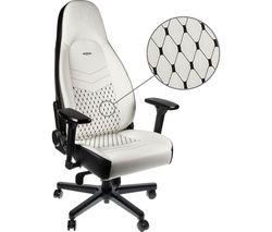 ICON Gaming Chair - White & Black