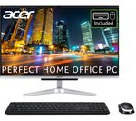 £499, ACER Aspire C22-963 21.5inch All-in-One PC - Intel® Core™ i3, 1 TB HDD, Silver, Everyday: All-rounder for work and play, Intel® Core™ i3-1005G1 Processor, RAM: 4GB / Storage: 1 TB HDD, Full HD display,