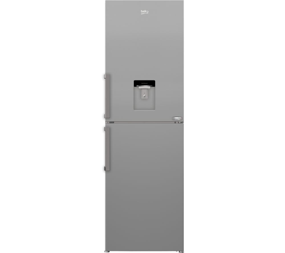 BEKO HarvestFresh CFP3691DVS 50/50 Fridge Freezer - Matte Silver, Silver
