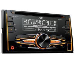 KW R520 CD Car Receiver - Black