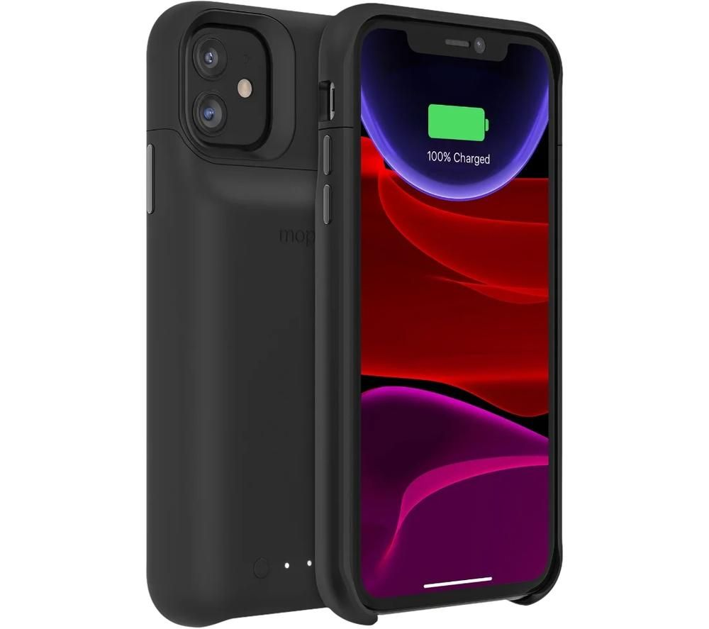Image of MOPHIE Juice Pack Access iPhone 11 Battery Case - Black, Black