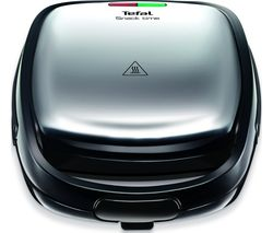 Snack Time SW341D40 Sandwich and Waffle Maker - Stainless Steel & Black