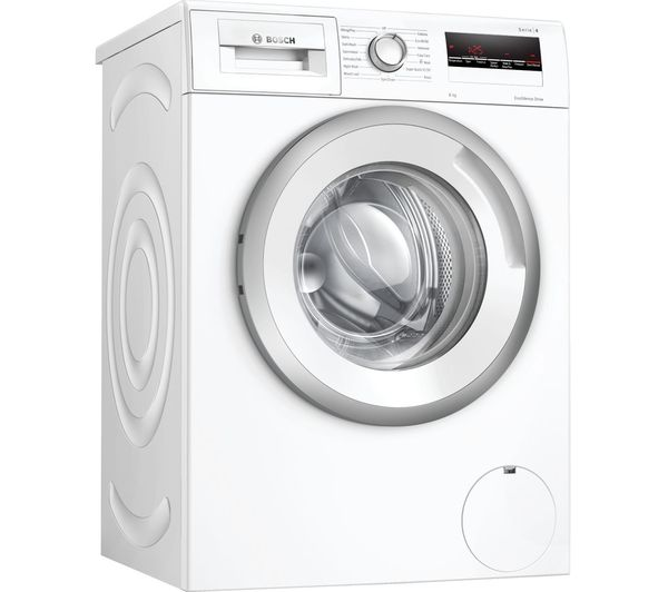 Image of BOSCH Serie 4 WAN24109GB 8 kg 1200 Spin Washing Machine - White