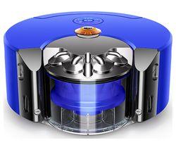 360 Heurist Robot Vacuum Cleaner - Blue & Nickel