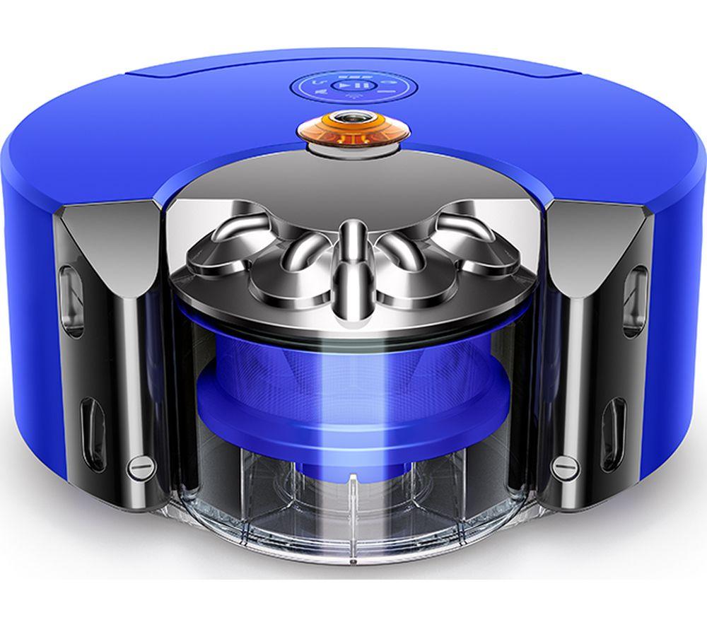 DYSON 360 Heurist Robot Vacuum Cleaner - Blue & Nickel