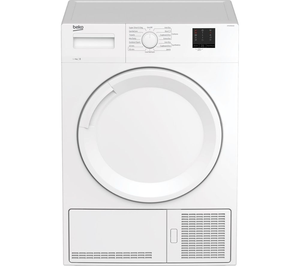 BEKO DTKCE90021W 9 kg Condenser Tumble Dryer - White