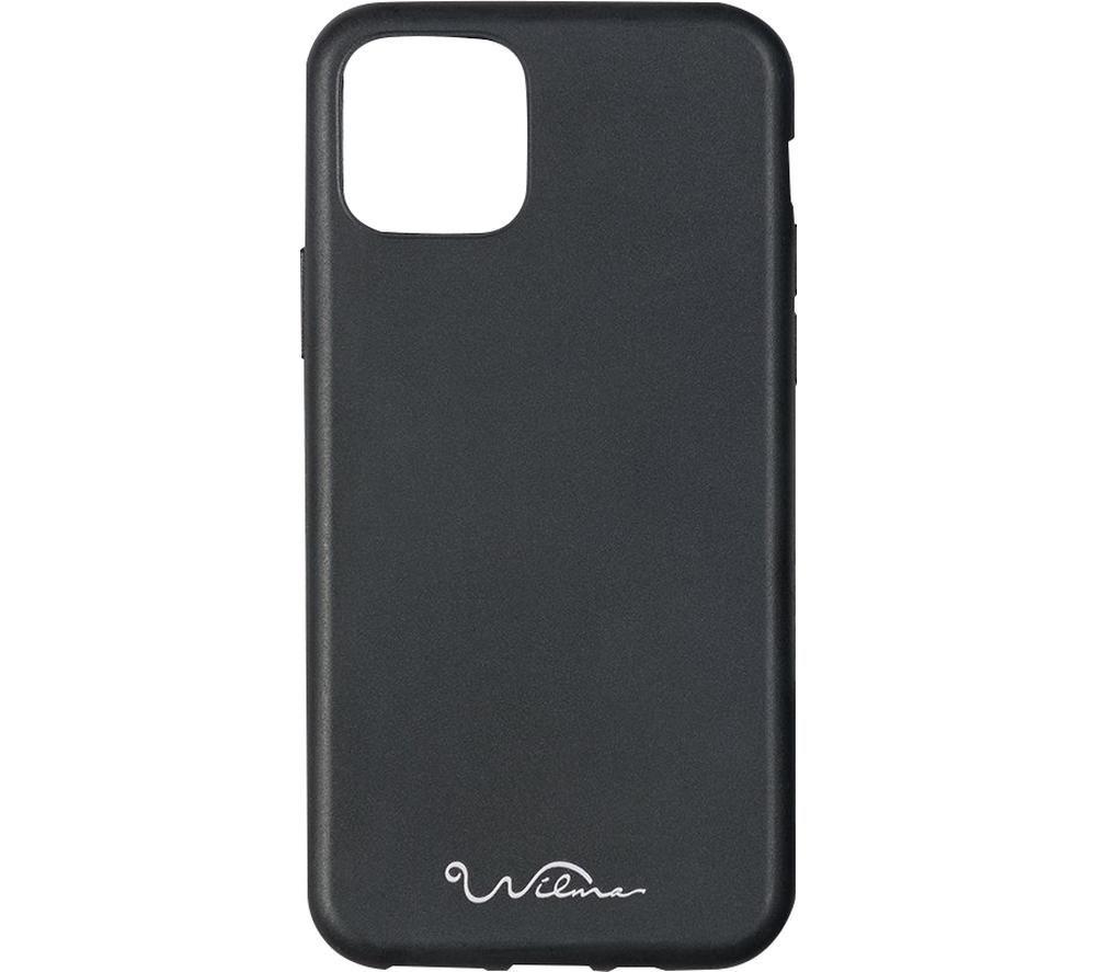 WILMA Stop Ocean Plastic Pollution iPhone 6 / 6S / 7 / 8 / SE2 Case - Black