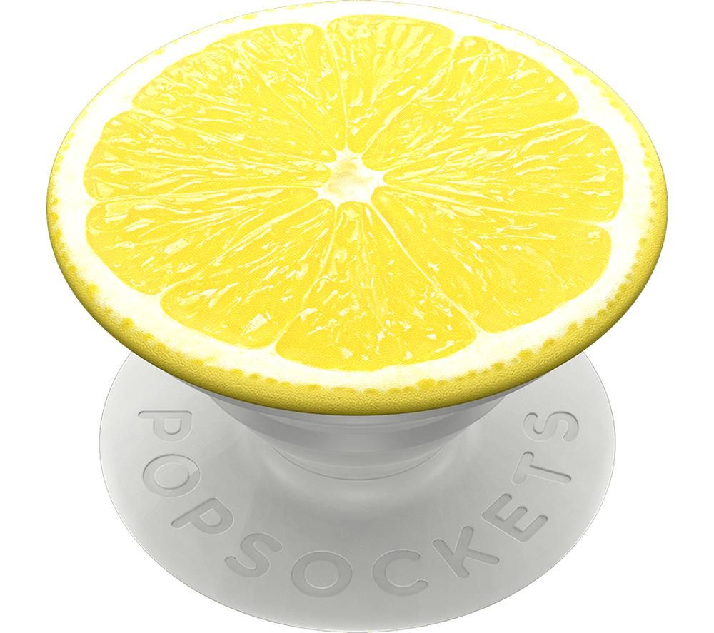 POPSOCKETS Swappable 800967 PopGrip - Yellow & White