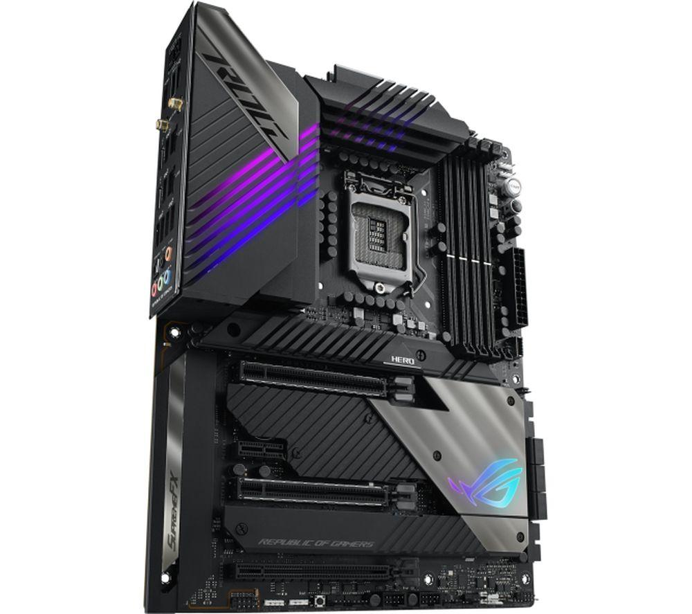 Image of ASUS ROG MAXIMUS XIII HERO WIFI Z590 LGA1200 Motherboard