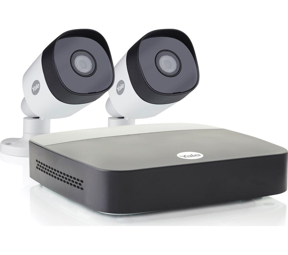 YALE SV-2C-2ABFX-2 Full HD 1080p DVR 4-Channel Smart CCTV Kit - 1 TB, 2 Cameras