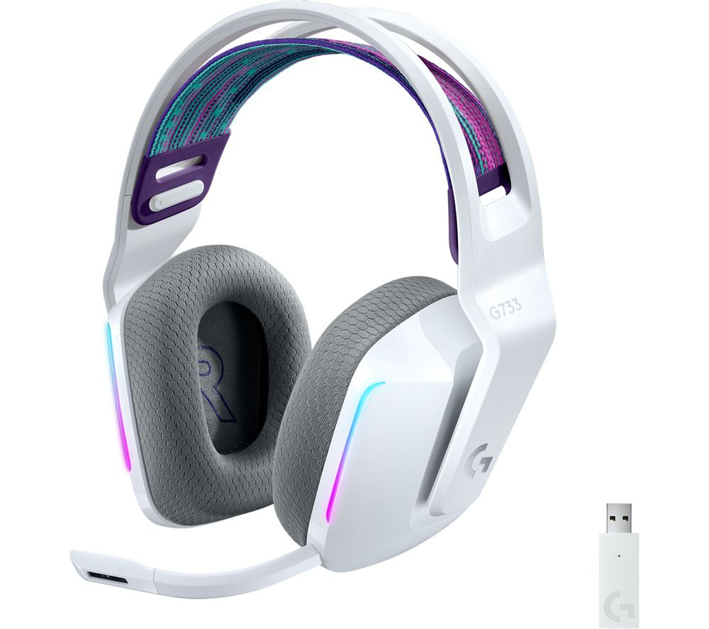 LOGITECH G733 LIGHTSPEED Wireless Gaming Headset - White