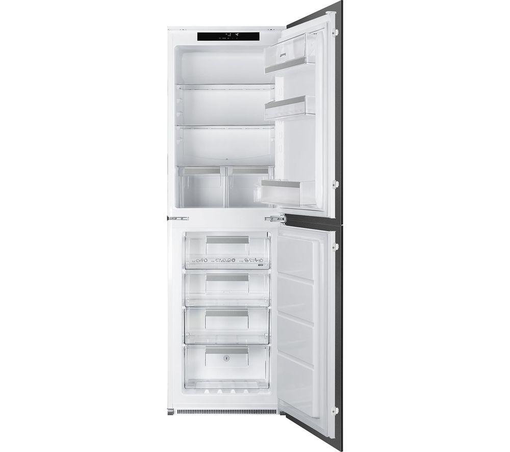 SMEG UKC8174NF Integrated 50/50 Fridge Freezer - Sliding Hinge