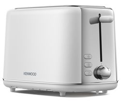 Abbey Lux TCP05.COWH 2-Slice Toaster - White