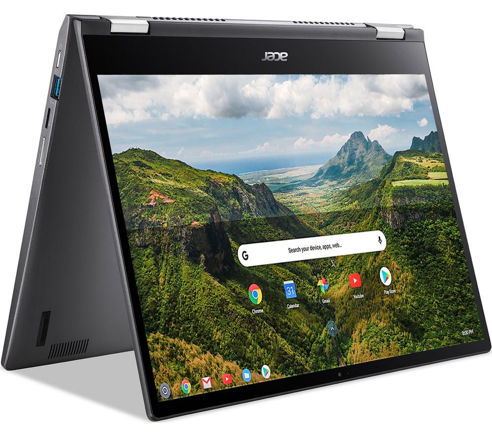"""Image of ACER Spin 713 13.5"""" 2 in 1 Chromebook - Intel®Core™ i3, 256 GB SSD, Grey, Grey"""