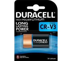 DURACELL CR-V3 Ultra Lithium 3V Battery