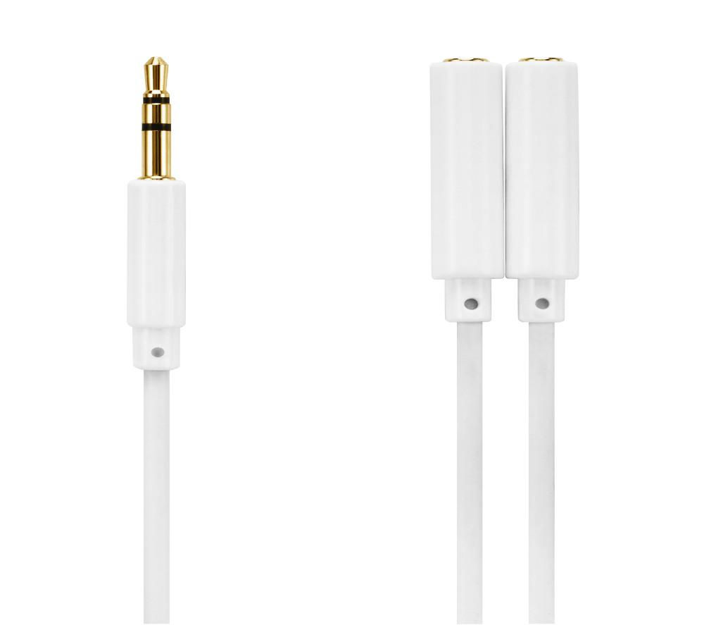 IWANTIT IHPSPL13 Headphone Splitter Cable - 0.2 m, Gold